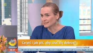 Ewa Sypnik-Pogorzelska w Dzień dobry TVN