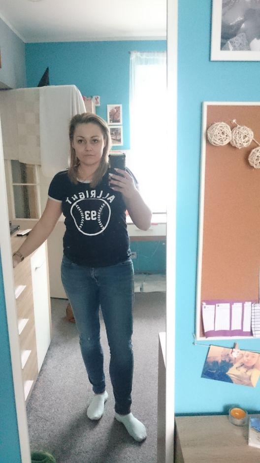 Magda przed odchudzaniem