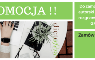 Promocja Dieta on-line Dietosfera Warszawa