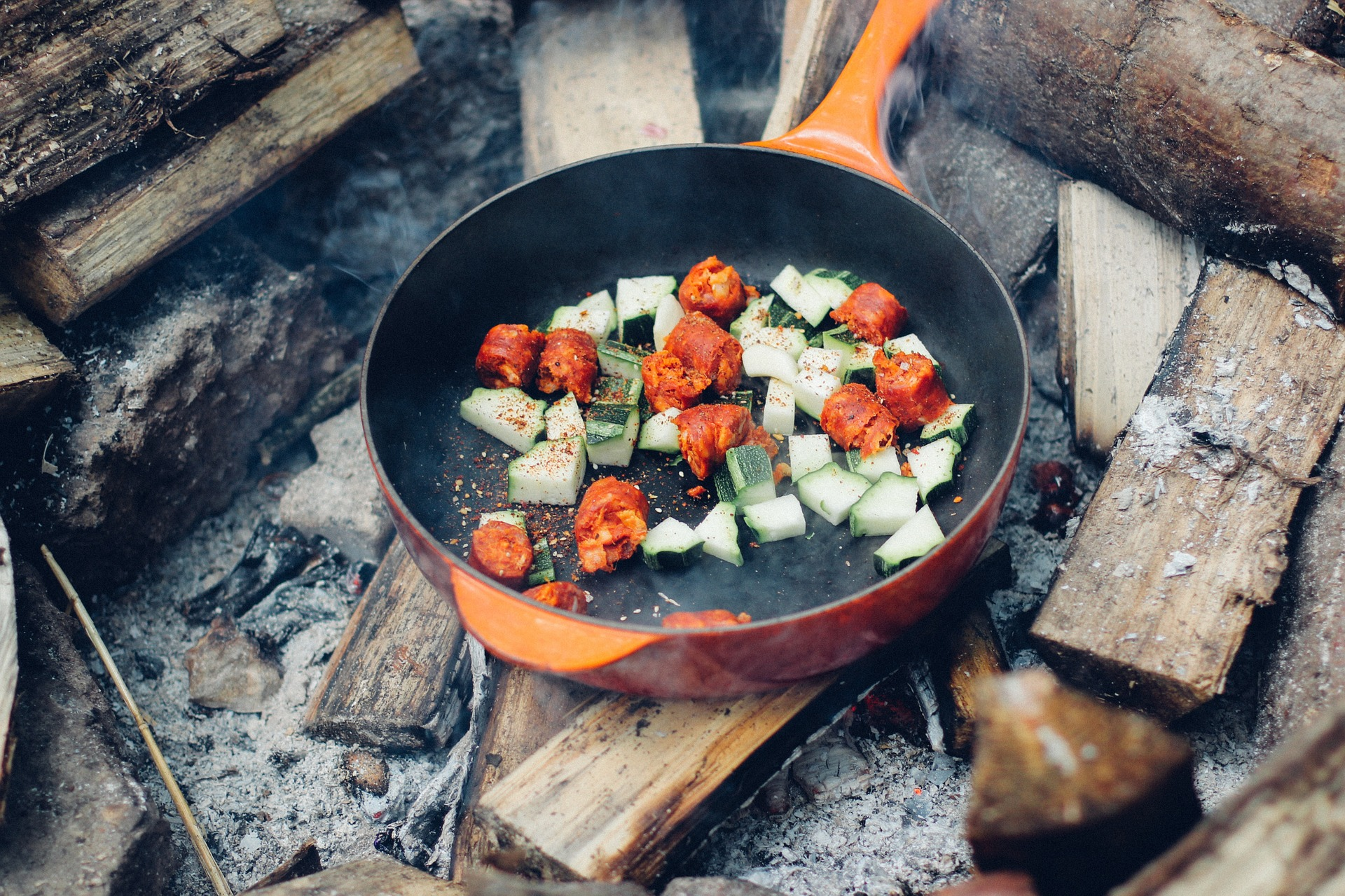 smażenie na zdrowej diecie